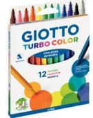ETUI 12FEUTRES PM TURBO COLOR GIOTTO