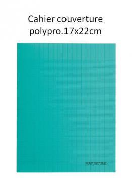 Cahier de recherches personnelles - PIQ 64P COUV PP 17X22 SEY VERT