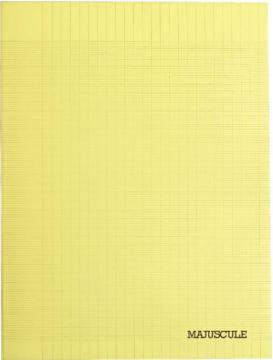 Cahier Piqûre 140 pages, couverture polypropylène, format 24x32cm, seyes 90g.