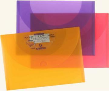 POCH RANG POLYPRO A3 34X47, couleur vive