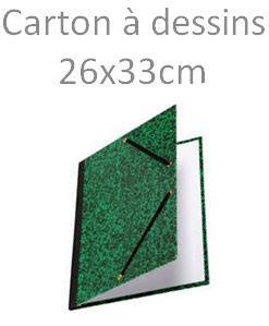 CARTON A DESSIN  pour formats 24X32