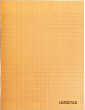 Cahier Piqûre 96 pages 17x22 cm, seyès 90g.Polypro